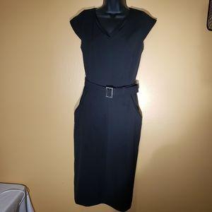 Calvin Klein Black Dress knee length
